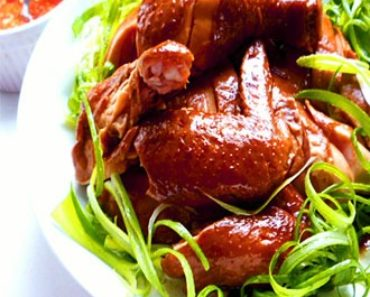 Aromatic Soy Poached Chicken