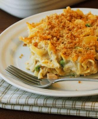 A Tuna Noodle Casserole that Will Make Even Mad Men Smile