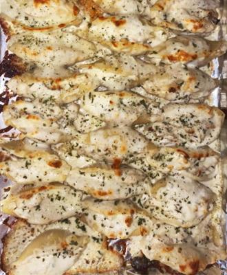 Chicken Alfredo Roll-ups