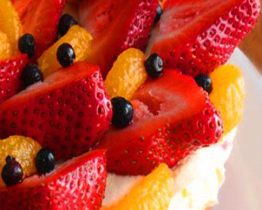 Egg-Free Fresh Fruit Cake