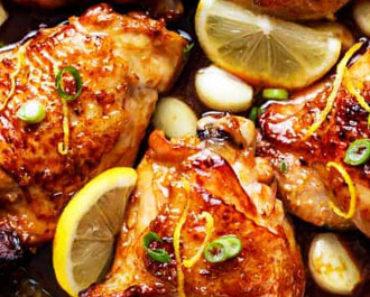 Lemon-Honey Chicken