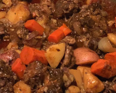 Oxtails stew