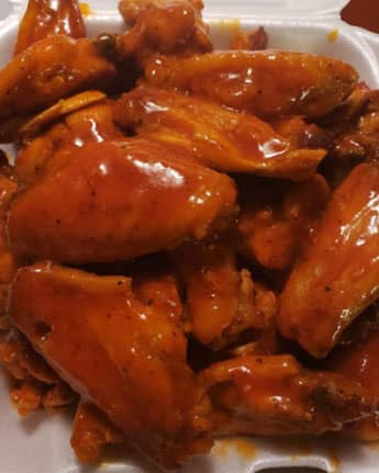 Buffalo Lemon Pepper Wings